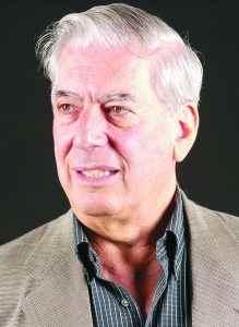 Escritor Pruana Mario Vargas Llosa, enero 3 del2006. Managua, Nicaragua. Foto LA PRENSA/Tomas Stargardter