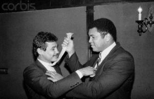 Con Muhammad Ali