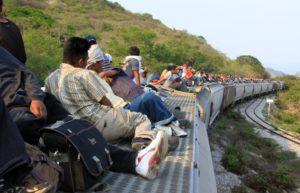 La Bestia, tren de inmigrantes centraomericanos