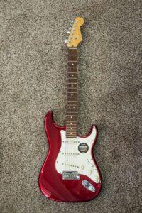 Guitarra eléctrica Fender Stratocater