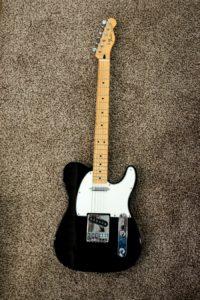 Guitarra eléctrica Fender Telecaster.
