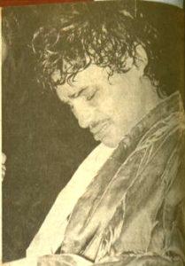 16 de febrero de 1974.  Alexis lloró cuando perdió la primera oportunidad de coronarse campeón mundial.
