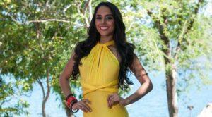 Modelo: Brianny Chamorro, tercera finalista de Miss Internacional 2015. Foto Archivo