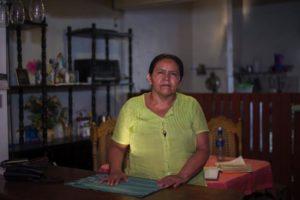 Rosa Laguna Obregón, de 47, trabaja como empleada doméstica en Managua desde hace ocho meses. En Jinotega ganaba apenas dos mil córdobas, en la capital le pagan cinco mil.