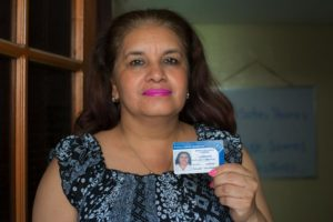 trabajadora sexual y facilitadora judicial. Girasoles de Nicaragua.