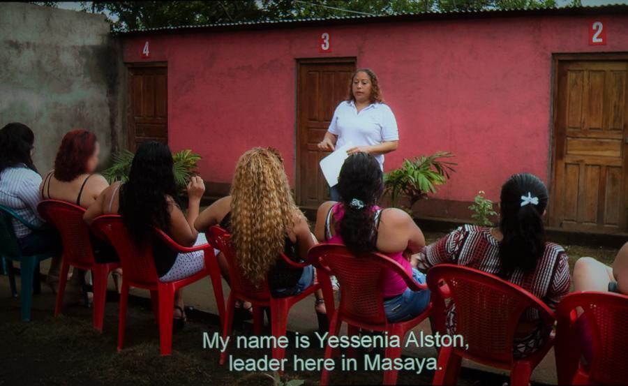 Trabajadoras sexuales, Girasoles Nicaragua