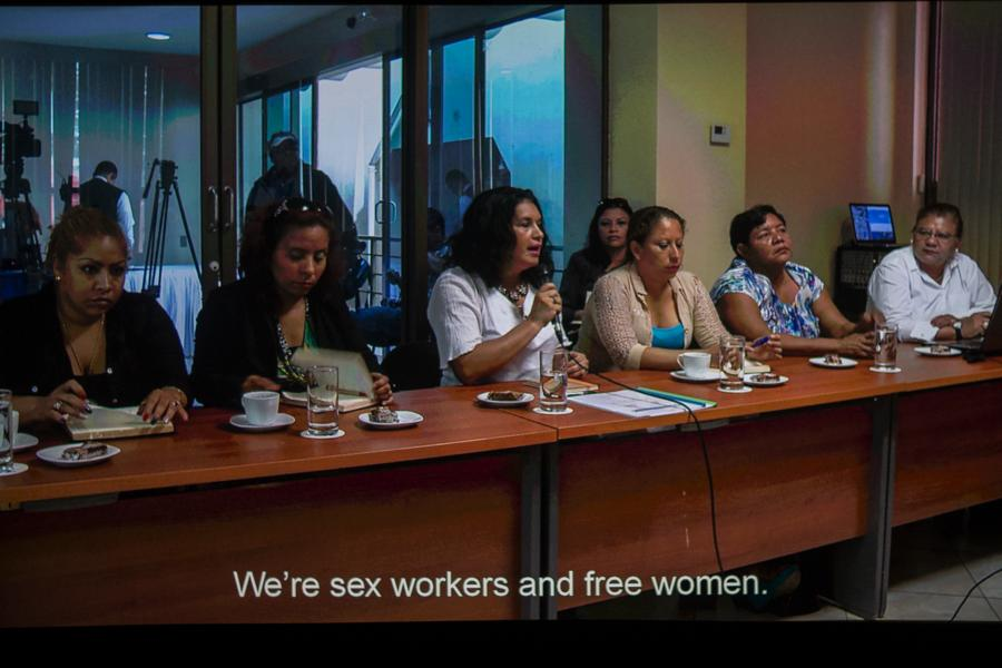 trabajadoras sexuales, Girasoles de Nicaragua.