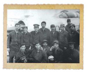 En mayo de 1980 salió el primer contingente de militares nicaragüenses a prepararse para pilotos de combate