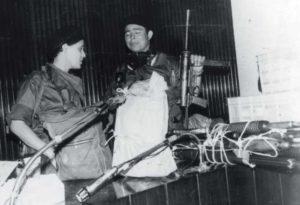 Dora María Téllez fue parte del comando que se tomó el Palacio Nacional y se encargó de la negociación con el régimen. La sorpresa de que fuera una mujer le trajo después muchas cartas de admiradores.