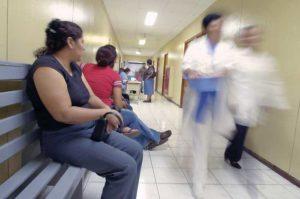 El corre corre en los hospitale