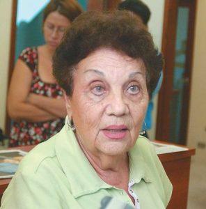 Miriam Argüello, exdiputada de la Asamblea Nacional