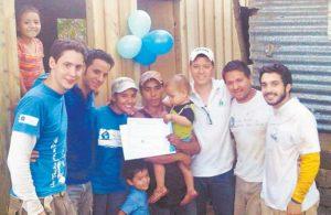 Los fondos de Techo provienen de aportes de socios particulares y donaciones de empresas privadas. Para aportar a este proyecto pueden escribir a recursos.nicaragua@TECHO.org