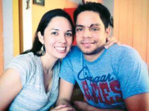 Abdel Largaespada y su esposa Auxiliadora Alvarado.