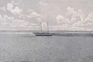 El puerto de Greytown. Fue aquí que en 1889 arrancaron las obras para la construcción del canal interoceánico dirigidas por Aniceto G. Menocal. Cortesía IHNCA