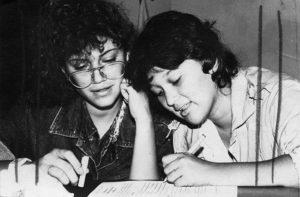 Brenda Rocha fue presidenta de la Federación Estudiantes de Secundaria. Foto Cortesía del IHNCA.