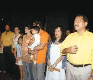 Daniel Ortega Y famila