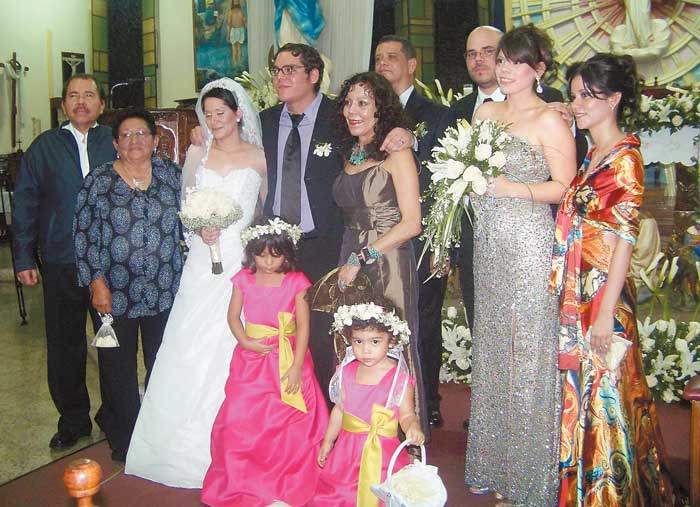 Enero 2010 la familia Ortega