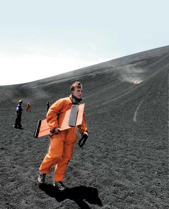 volcán Cerro Negro.