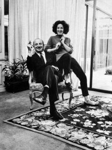 """Alex Berger, el empresario multimillonario que fue su cuarto esposo, era todo """"un hombre"""", según María Félix."""