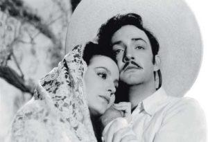 """La actriz y Jorge Negrete Se odiaron durante la filmación de """"El Peñón de las Ánimas"""", diez años después, en 1952, se casaron."""