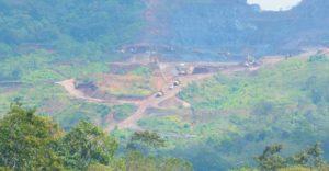 Los efectos de la minería se notan en el paisaje de Chontales