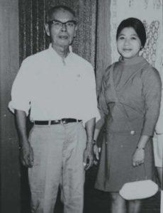 Adán Chow y Cándida Chang.