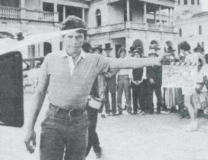 Película Walker, filmada en Nicaragua.