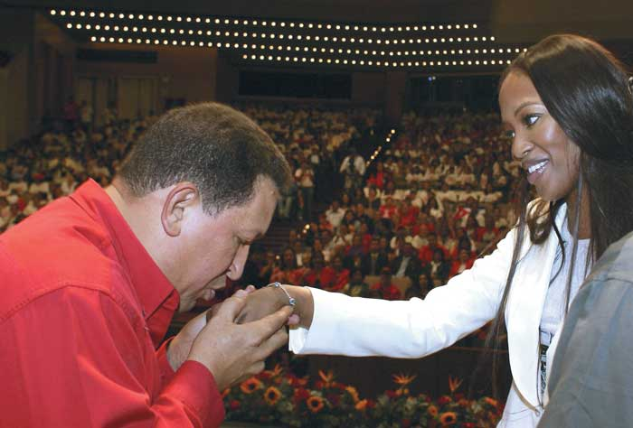Las mujeres de Hugo Chávez Frías