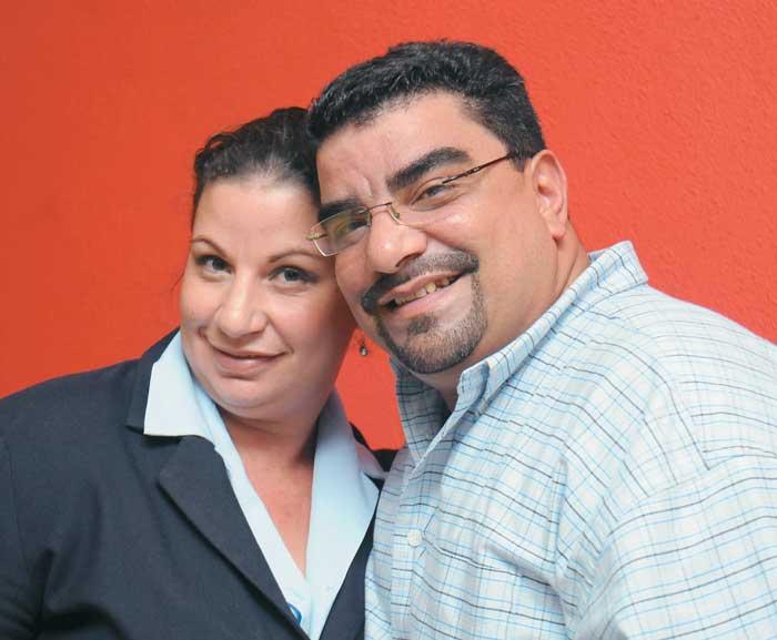 Elenmina y Rafael Leónidas Trujillo Palacios