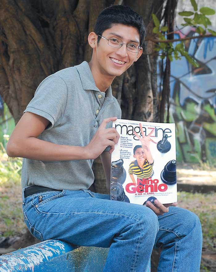 Magazine, niño genio