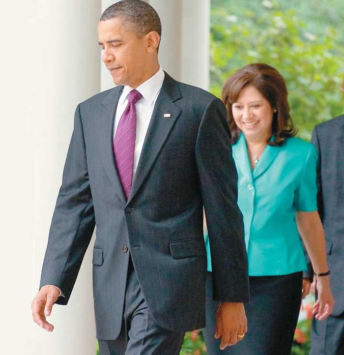 En diciembre de 2008 Hilda Solís fue nombrada Secretaria del Trabajo de los EE.UU.