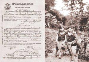Blanca Stella Aráuz Pineda y Augusto C. Sandino se conocieron en 1927, ese mismo año se casaron