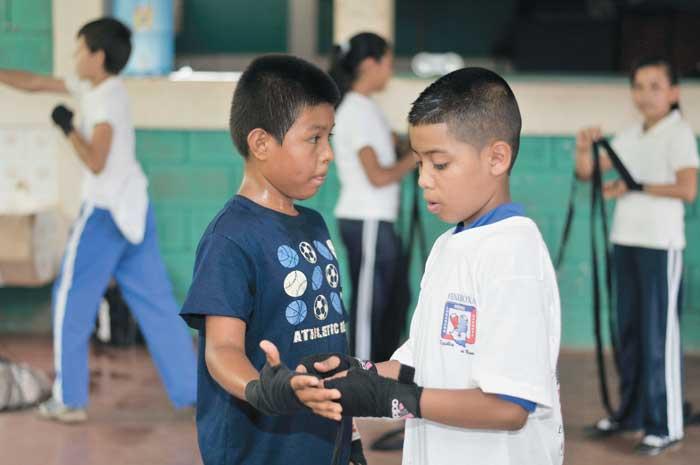 Proyecto deportivo, que pretende promover Osmar Bravo