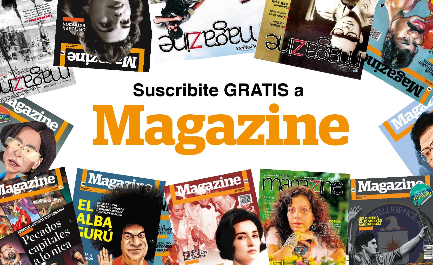 Magazine suscripción gratis