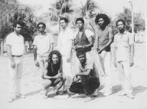 Philip Montalbán de gira con su grupo Soul Vibs, en Corn Island.