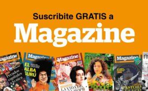 Suscripción gratis Magazine