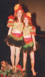 Vivian Vanessa comparte con su madre el amor al baile.