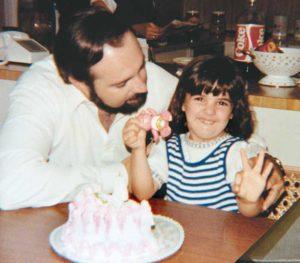 """""""Mi papá es un hombre sumamente cariñoso. Eso me encanta de él"""", dice Vivian Vanessa."""