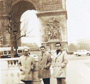 1961. Rothschuh estuvo en París por un año estudiando Pedagogía y Literatura.