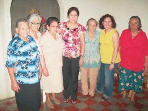Hilda Solís, durante su última visita al país, en julio de este año