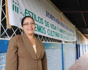 Ileana Rivera, una de las primas hermanas de Solís, es profesora de secundaria en la Escuela Elieta Rizo, de Sabana Grande.