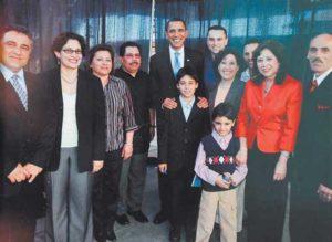 El Presidente Obama junto a Hilda Solís.Fotos de Bismarck Picado