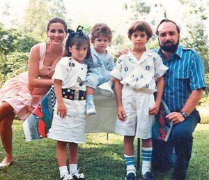 La familia Pellas Fernández hace más de quince años.