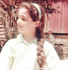 De niña soñaba con ser bailarina o diseñadora de interiores.