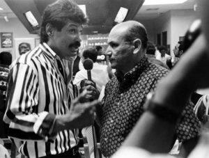 No hubo en los años 80 periodista nicaragüense que más entrevistara al campeón de boxeo Alexis Argüello que Edgar Tijerino.