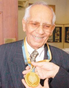 A finales de los 90, una de las medallas de honor que recibió Camilo Zapata, el padre del son nica.