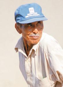 Juan Oporta, de 73 años, cuenta que cuando las mujeres montaban eran el espectáculo del día.