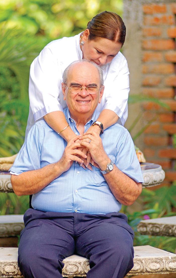 Fotos de Mayerling García y Julio Molina