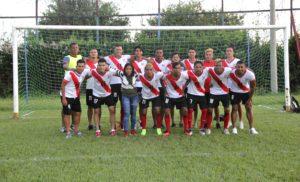 Reyna Espinoza Morán, del equipo de fútbol masculino Chinandega FC, en Primera División.