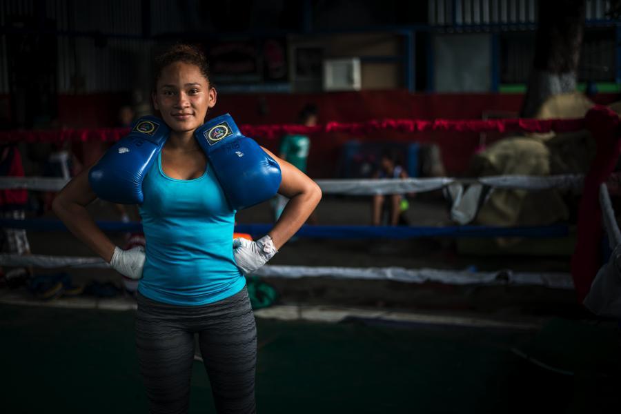 Scarleth Ojeda, boxedora